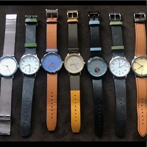 Ted Bakers guys watch collection